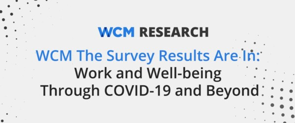 Work and Well-being Through COVID-19 and Beyond