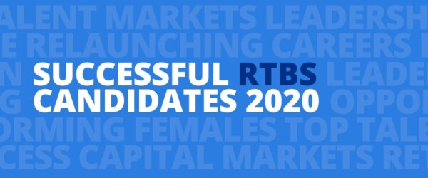 Return to Bay Street (RTBS) Relaunches Ten Women into Leadership Positions in Finance