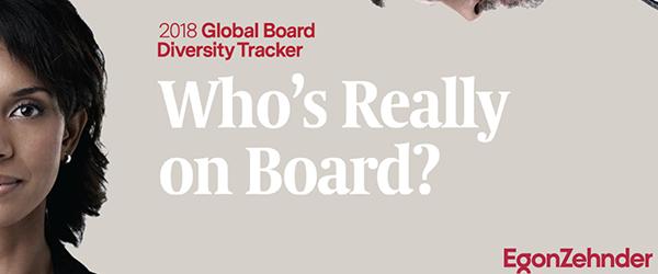 2018 Global Board Diversity Tracker: Who's Really On Board?