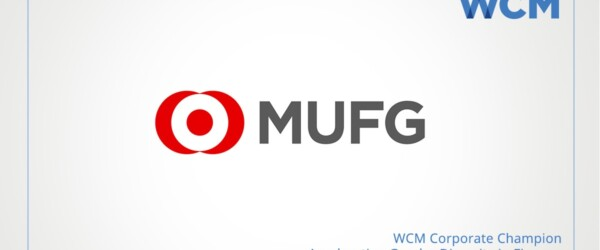 WCM Welcomes MUFG as Corporate Sponsor