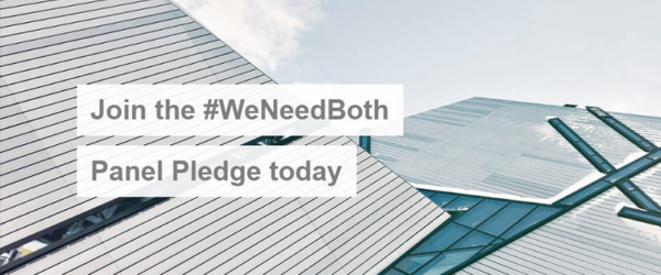 Join the #WeNeedBoth Panel Pledge