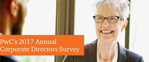 PwC's 2017 Annual Corporate Directors Survey