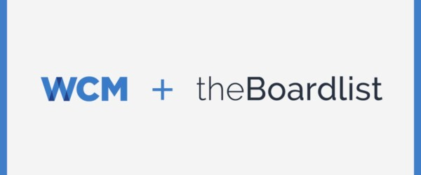 WCM Announces Partnership with theBoardlist
