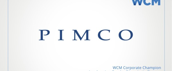 WCM Welcomes PIMCO as Corporate Sponsor