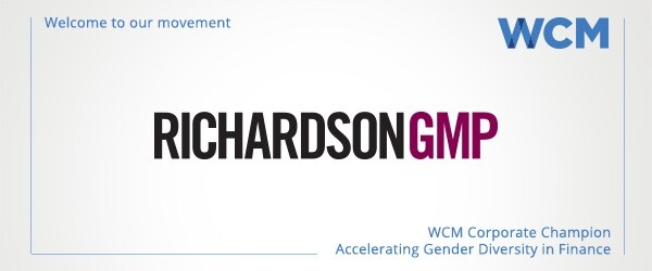 WCM Welcomes Richardson GMP as Corporate Sponsor
