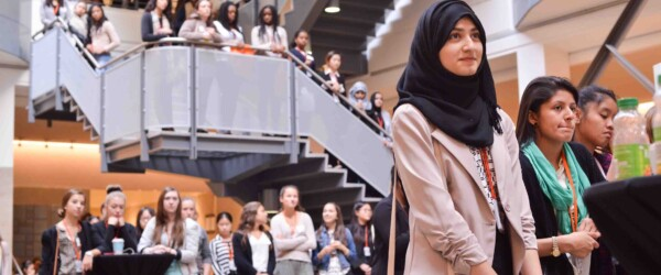 WCM hosts 100 grade 12 girls at WCM's Job Shadow Day