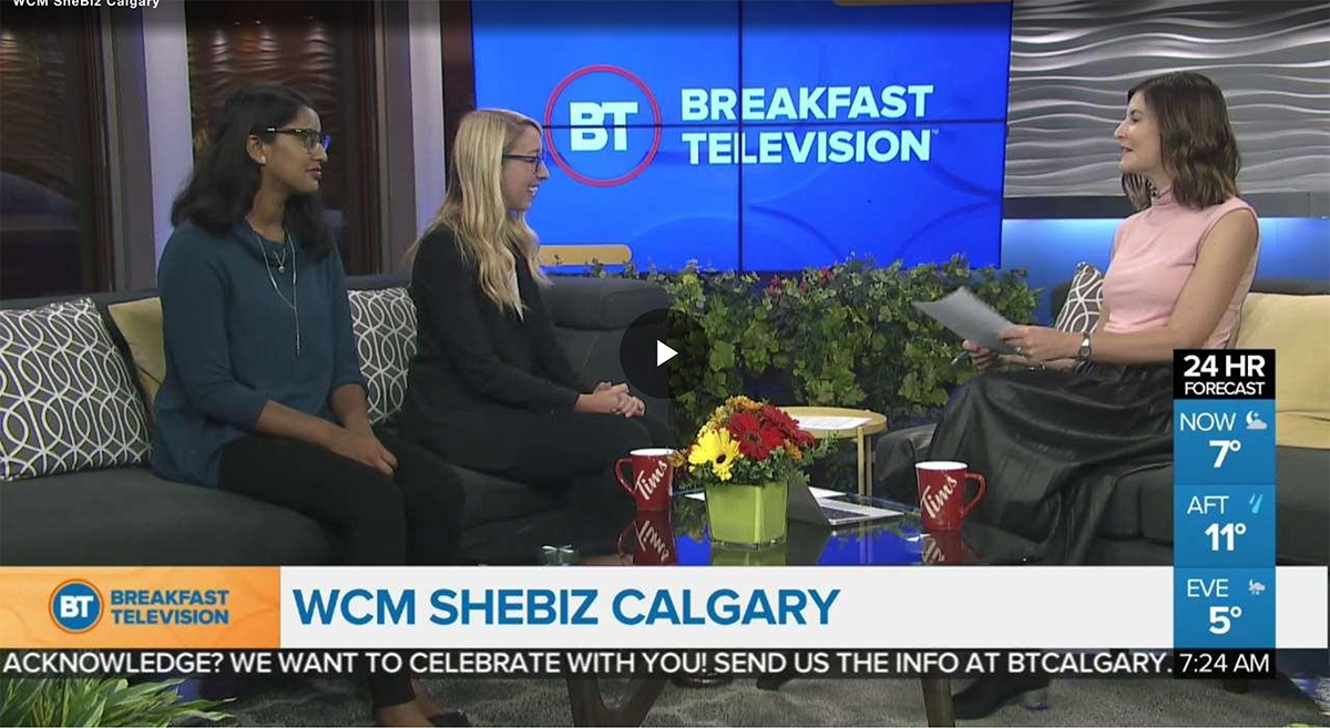 About WCM SheBiz at Breakfast Television 2018